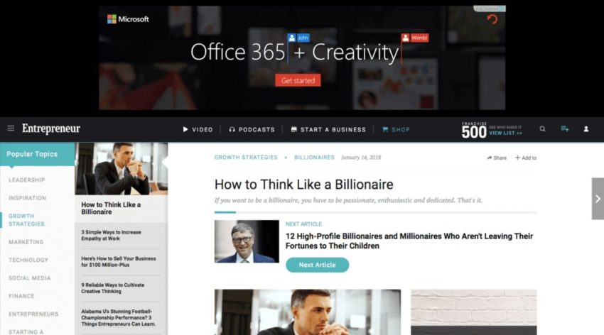 Office 365 Creativity